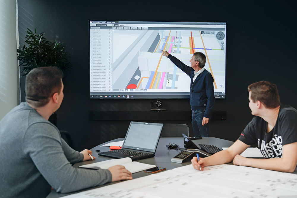 Adenbeck Smartboard Besprechung